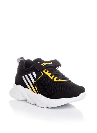 Tonny Black Siyah Sarı Çocuk Spor Ayakkabı Tbz05 Siyah
